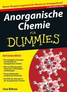 Abbildung von Böhme   Anorganische Chemie für Dummies   2. Auflage   2013   beck-shop.de