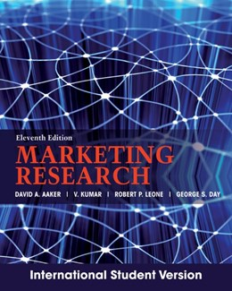 Abbildung von Aaker / Kumar / Leone | Marketing Research | 11. Auflage | 2012 | International Student Version