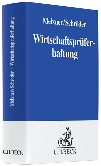 Wirtschaftsprüferhaftung | Meixner / Schröder, 2013 | Buch (Cover)