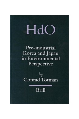 Abbildung von Totman | Pre-industrial Korea and Japan in Environmental Perspective | 2003 | 11