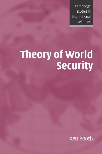 Abbildung von Booth | Theory of World Security | 2007