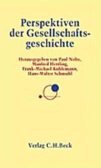 Perspektiven der Gesellschaftsgeschichte | Nolte, Paul / Hettling, Manfred / Kuhlemann, Frank-Michael / Schmuhl, Hans-Walter | Buch (Cover)