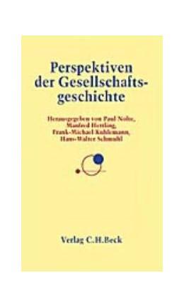 Abbildung von Nolte, Paul / Hettling, Manfred / Kuhlemann, Frank-Michael / Schmuhl, Hans-Walter | Perspektiven der Gesellschaftsgeschichte | 2000