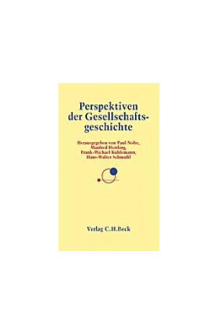Cover: , Perspektiven der Gesellschaftsgeschichte