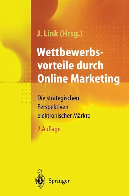 Wettbewerbsvorteile durch Online Marketing | Link, 2012 | Buch (Cover)