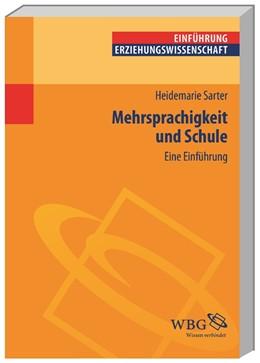 Abbildung von Sarter | Mehrsprachigkeit und Schule | 2013 | Eine Einführung