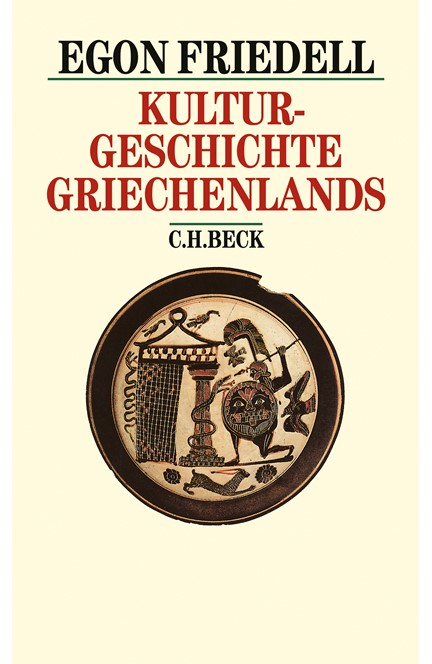 Cover: Egon Friedell, Kulturgeschichte Griechenlands