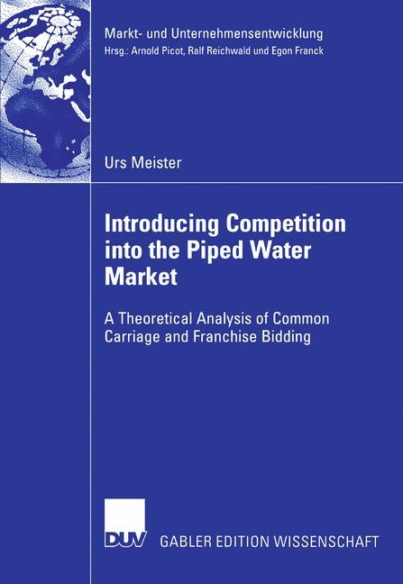 Abbildung von Meister | Introducing Competition into the Piped Water Market | 2006