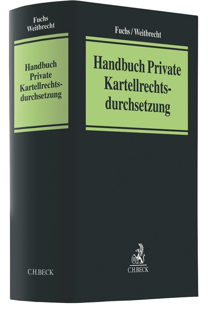 Handbuch Private Kartellrechtsdurchsetzung | Fuchs / Weitbrecht, 2019 | Buch (Cover)