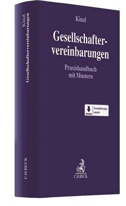 Abbildung von Kinzl | Gesellschaftervereinbarungen | 1. Auflage | 2021 | beck-shop.de