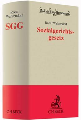 Abbildung von Roos / Wahrendorf | Sozialgerichtsgesetz: SGG | 1. Auflage | 2014 | beck-shop.de