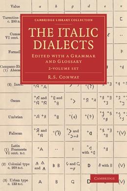 Abbildung von Conway | The Italic Dialects 2 Volume Set | 2013