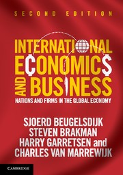 Abbildung von Beugelsdijk / Brakman / Garretsen | International Economics and Business | 2013