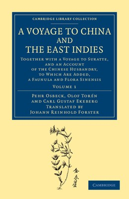 Abbildung von Osbeck / Torén / Ekeberg | A Voyage to China and the East Indies | 2013 | Together with a Voyage to Sura...