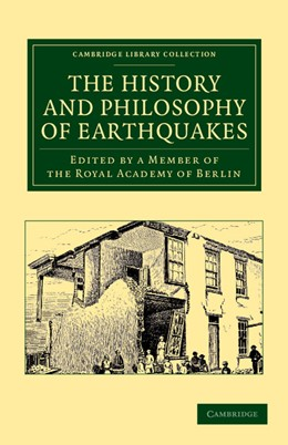 Abbildung von Member of the Royal Academy of Berlin   The History and Philosophy of Earthquakes   2013