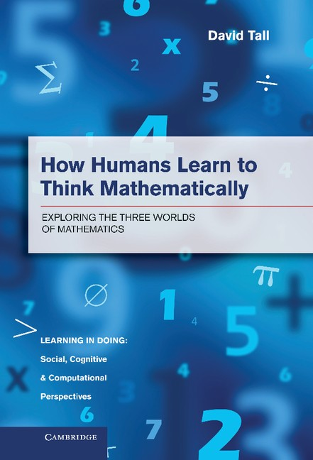 Abbildung von Tall | How Humans Learn to Think Mathematically | 2013
