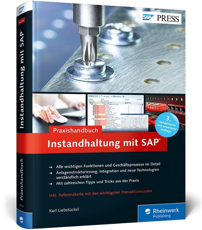 Praxishandbuch Instandhaltung mit SAP   Liebstückel, 2013   Buch (Cover)