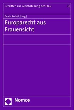 Abbildung von Rudolf   Europarecht aus Frauensicht   1. Auflage   2018   31   beck-shop.de