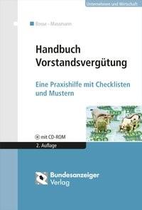 Handbuch Vorstandsvergütung | Bosse / Massmann | 2., überarbeitete Auflage, 2015 (Cover)