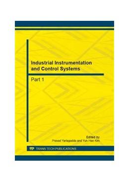 Abbildung von Yarlagadda / Kim | Industrial Instrumentation and Control Systems | 2013 | Volumes 241-244