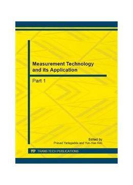 Abbildung von Yarlagadda / Kim | Measurement Technology and its Application | 2013 | Volumes 239-240