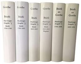 Abbildung von Goethe, Johann Wolfgang von | Goethes Briefe und Briefe an Goethe | 2013 | Hamburger Ausgabe in 6 Bänden