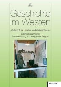 Abbildung von Geschichte im Westen 27/2012 | 2013