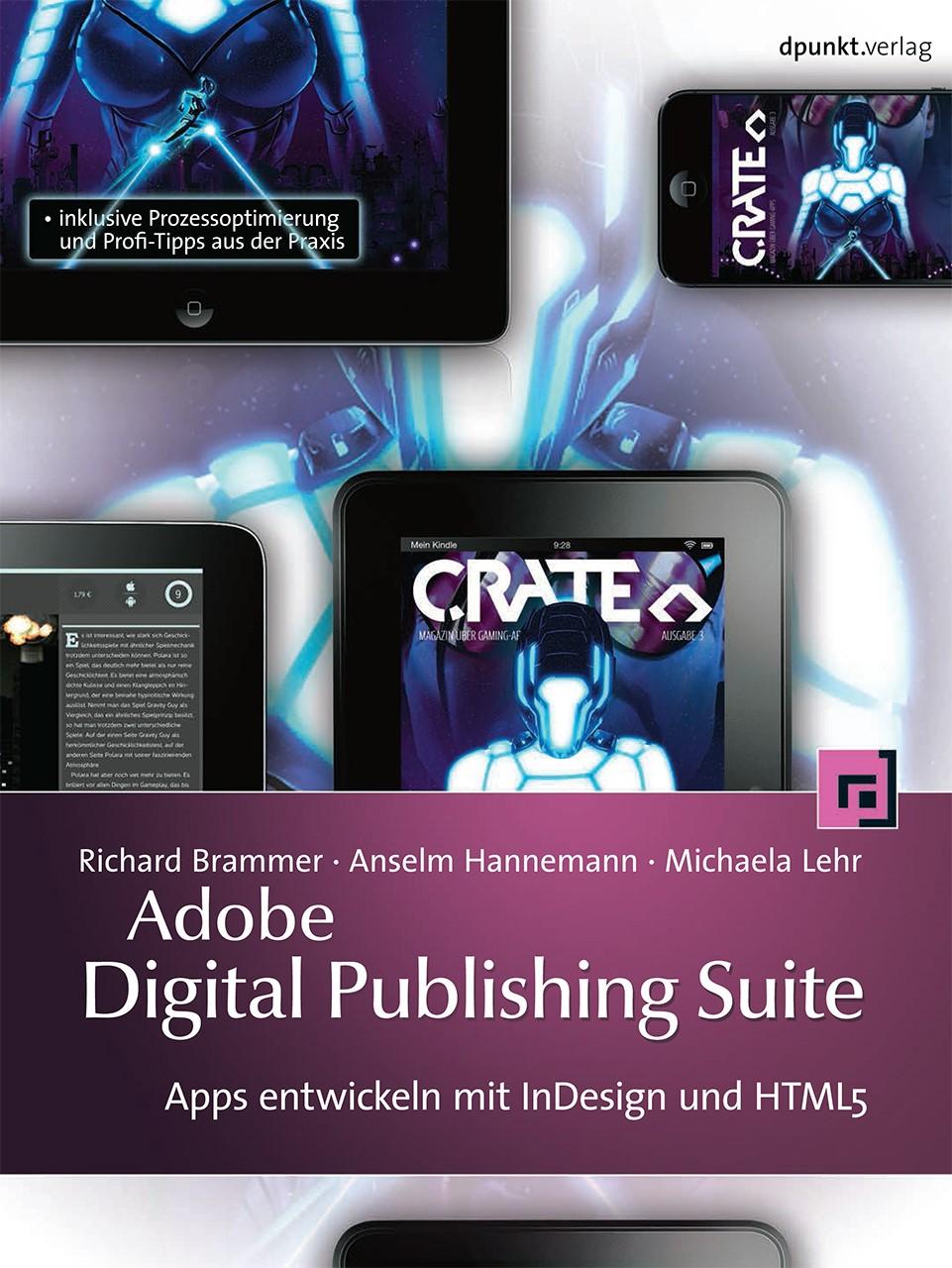 Adobe Digital Publishing Suite   Brammer / Hannemann / Lehr, 2013   Buch (Cover)