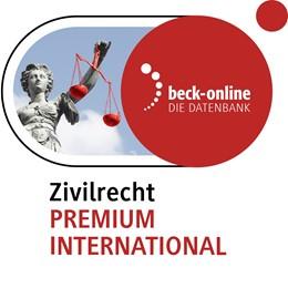 Abbildung von beck-online. Zivilrecht PREMIUM International | | Das Online-Angebot für die umf...