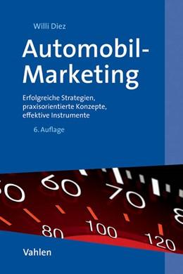 Abbildung von Diez   Automobil-Marketing   6. Auflage   2015   beck-shop.de