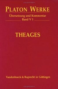 Theages | Platon / Döring, 2004 | Buch (Cover)