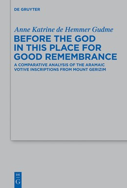 Abbildung von Hemmer Gudme | Before the God in this Place for Good Remembrance | 1. Auflage | 2013 | 441 | beck-shop.de