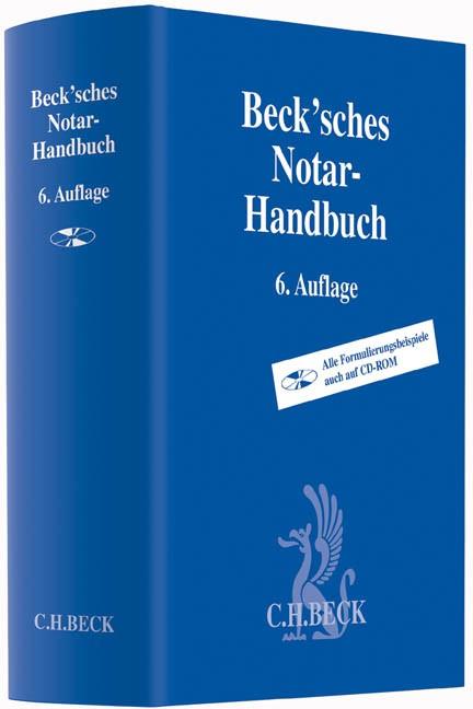 Beck'sches Notar-Handbuch | 6., überarbeitete und erweiterte Auflage, 2014 (Cover)