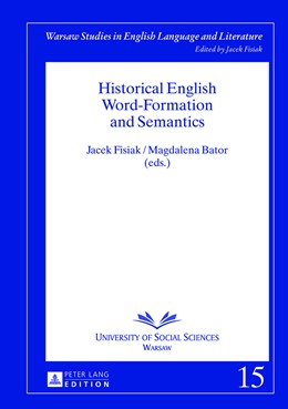 Abbildung von Bator / Fisiak | Historical English Word-Formation and Semantics | 2013 | 15