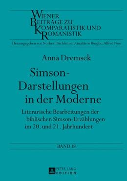 Abbildung von Dremsek | Simson-Darstellungen in der Moderne | 2013 | Literarische Bearbeitungen der... | 18