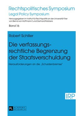 Abbildung von Schiller | Die verfassungsrechtliche Begrenzung der Staatsverschuldung | 2013 | Herausforderungen an die «Schu... | 16