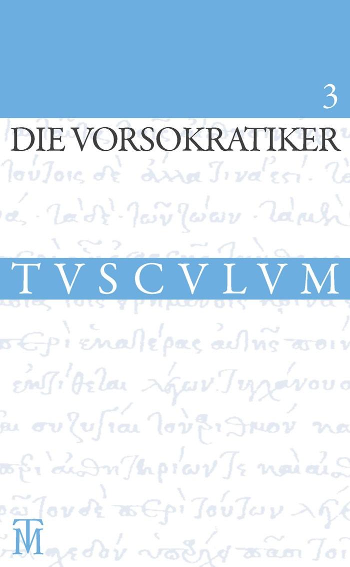 Die Vorsokratiker 3 | Gemelli Marciano | 2. Aufl., 2013 | Buch (Cover)