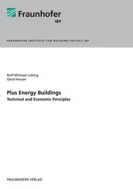 Abbildung von Lüking /    Plus Energy Buildings - Technical and Economic Principles.   1. Auflage   2013   beck-shop.de