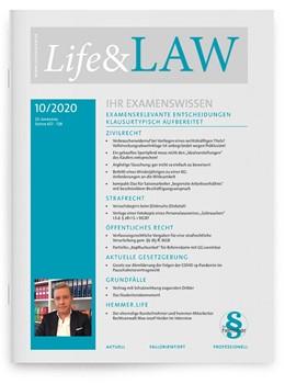 Abbildung von Life & Law | 2020 | hemmer Ausbildungszeitschrift