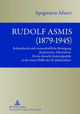 Abbildung von Afanvi | Rudolf Asmis (1879-1945) | 2013 | Kolonialrecht und wissenschaft...