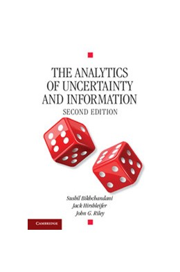 Abbildung von Bikchandani / Riley / Hirshleifer | The Analytics of Uncertainty and Information | 2013