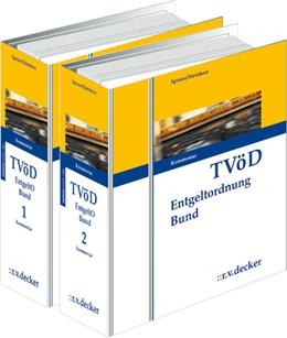 Abbildung von Sponer / Steinherr   TVöD Entgeltordnung Bund - mit Aktualisierungsservice   1. Auflage   2020   beck-shop.de