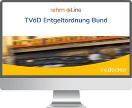 Abbildung von Sponer / Steinherr | TVöD Entgeltordnung Bund • online | 1. Auflage | | beck-shop.de