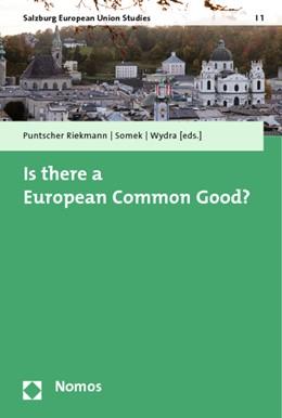 Abbildung von Wydra / Puntscher Riekmann / Somek   Is there a European Common Good?   2013   1