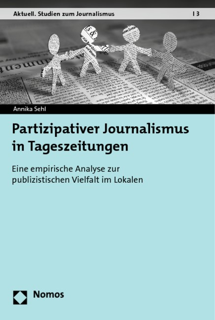 Partizipativer Journalismus in Tageszeitungen | Sehl, 2013 | Buch (Cover)