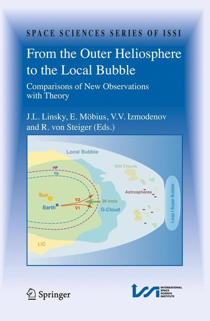 From the Outer Heliosphere to the Local Bubble | Linsky / Izmodenov / Mobius / von Steiger, 2009 | Buch (Cover)