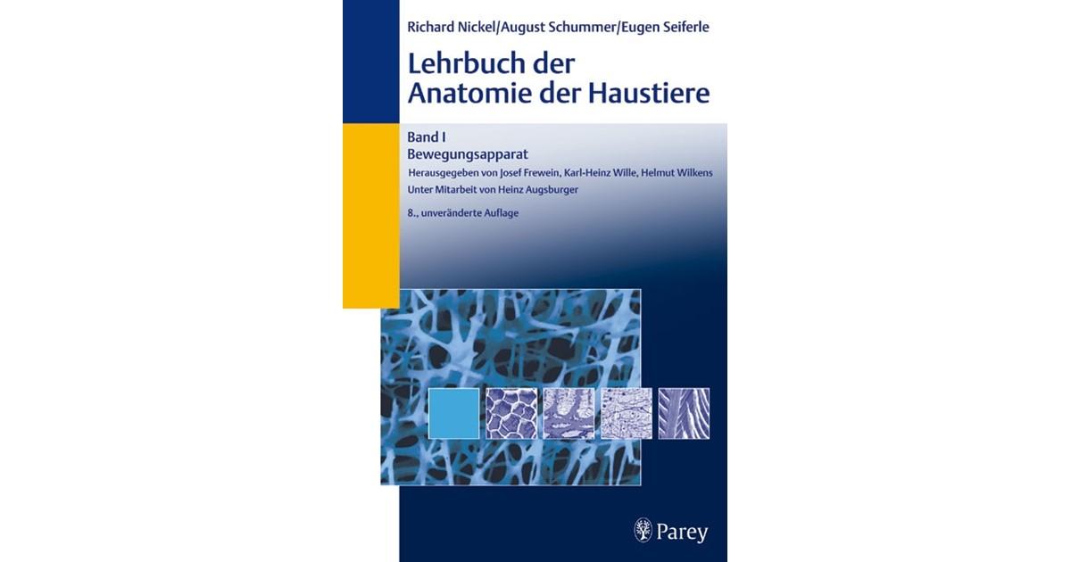 Lehrbuch der Anatomie der Haustiere, Band I: Bewegungsapparat ...