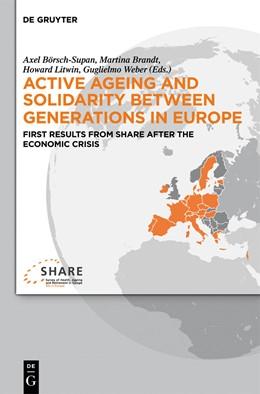 Abbildung von Börsch-Supan / Brandt / Litwin / Weber   Active ageing and solidarity between generations in Europe   2013   First results from SHARE after...