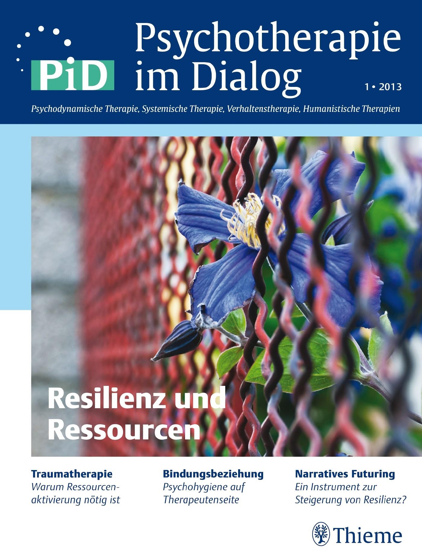 Psychotherapie im Dialog - Resilienz und Ressourcen | Borcsa / Stein, 2013 | Buch (Cover)
