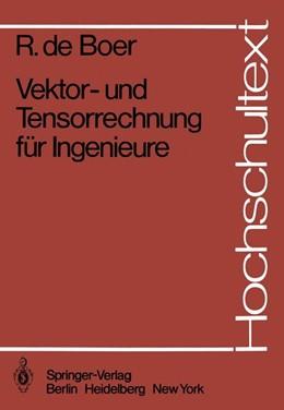Abbildung von Boer   Vektor- und Tensorrechnung für Ingenieure   1982